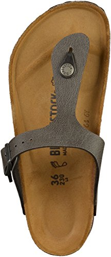 Birkenstock 1005029 - Zuecos para mujer Pull Up Anthracite