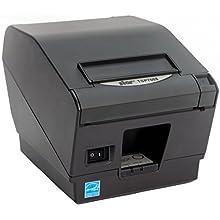 Star Micronics TSP743IIU USB Thermal Receipt Printer with Auto-cutter - Gray