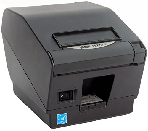 Star Micronics TSP743IIC Parallel Thermal Receipt Printer with Auto-cutter - Gray ()