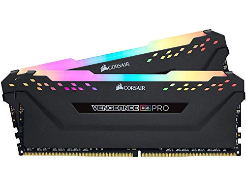 Corsair Vengeance RGB Pro 16GB (2 x 8GB) 288-Pin DRAM DDR4 3000 (PC4 24000) CMW16GX4M2D3000C16