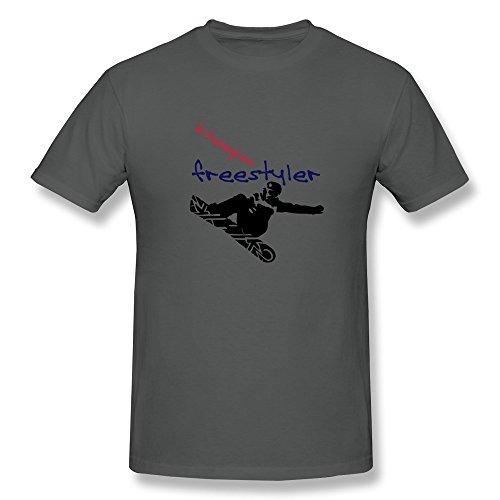 Mens Snowboarder2 Freestyle Vec 3ca T-shirts,DeepHeather T-shirt By HGiorgis XL DeepHeather