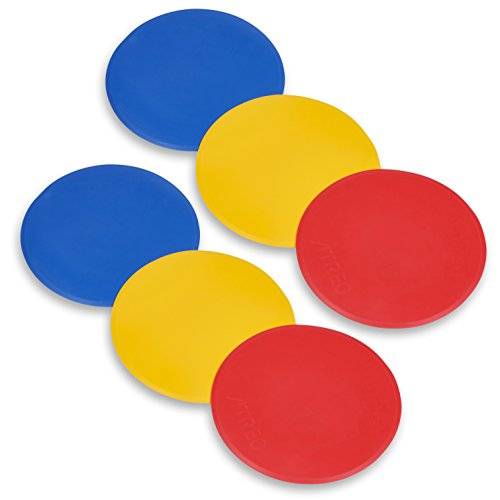 Unlimited Potential Agility Training Dots With Carrying Bag (Set of 6)