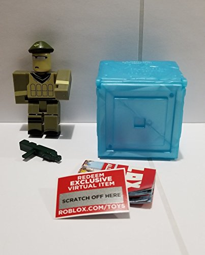 ROBLOX Series 3 Redwood Prison Spec Ops action Figure mystery box + Virtual Item Code 2.5