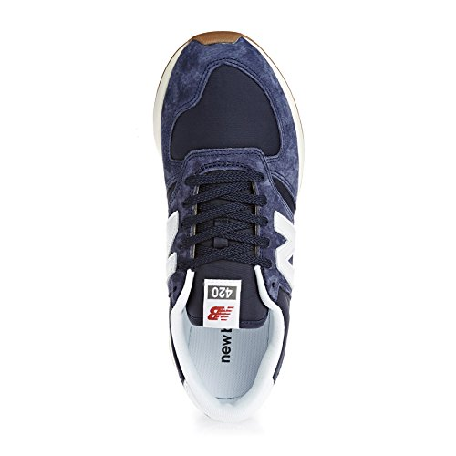 New Balance 420 Trainers Blue Navy Blue gkYjHyXN