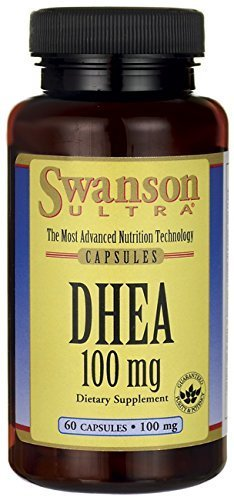 DHEA 100 mg 60 Caps by Swanson Ultra by Swanson Ultra