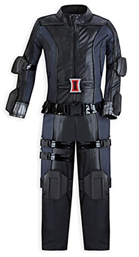 Disney Marvel Girls Black Widow Costume, Small, Size 5/6]()