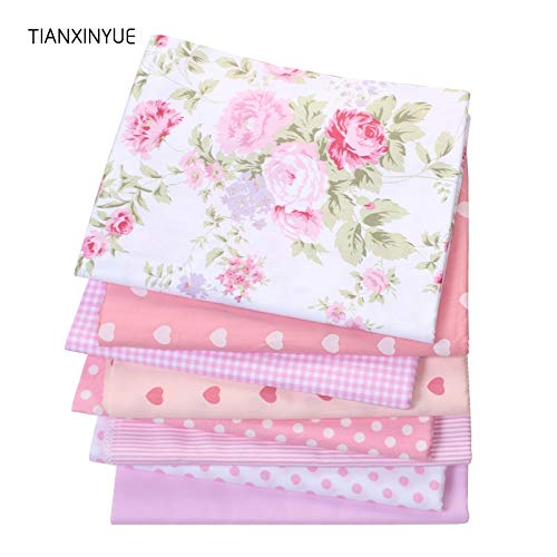 High Quality | Fabric | pcs Flower farbic Rural Floral Cotton Fabric Textile Bag Fabric for Sewing Patchwork craftsTilda Cloth 40 * 50cm Free Shipping | by AQANATURE