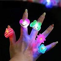 Party Propz LED Finger Ring for Kids (Set of 36)
