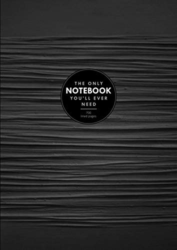 - The Only Notebook You'll Ever Need   Golding's Giant Journal, 700 Lined Pages: 8.27 x 11.69 in, with Table of Contents and Page Numbers