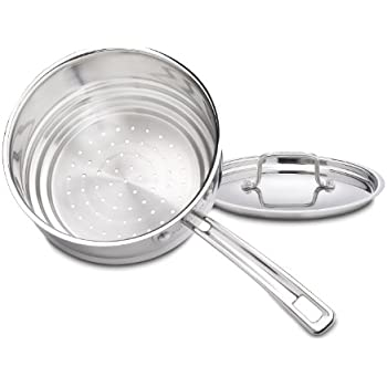 Cuisinart MCP116-20N MultiClad Pro Stainless Universal Steamer with Cover
