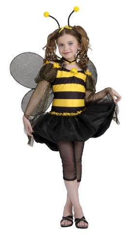 Drama Queens Sweet Bee Tween Costume, Medium