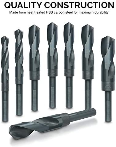 Drill Point Angle 1-15//32 Helical Flute Series TTC PRODUCTION High Speed Steel Silver /& Deming Drills 1//2 Size 118/° Tool Material High Speed Steel Flute Shape A15 Shank Size