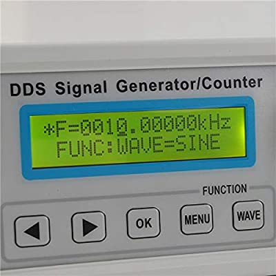 HATCHMATIC 2MHz DDS Function Signal Generator Sine/Square Wave Sweep Frequency Meter Digital FY2102S Electronic Measuring Instruments: China