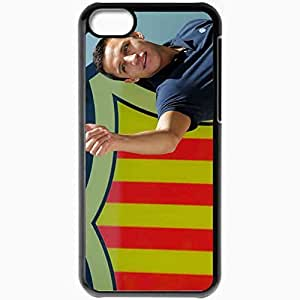 Personalized iPhone 5C Cell phone Case/Cover Skin 2013 alexis sanchez Black