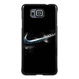 Samsung Galaxy Alpha case,Unique Design Cold Nike Logo Black cell phone case for Samsung Galaxy Alpha