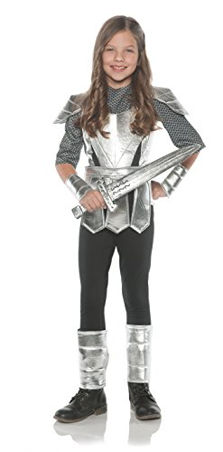 Joan Of Arc Costumes (Little Girl's Joan Of Arc Girl Knight Costume - Medium)