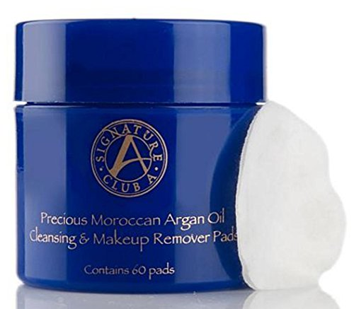 Signature Club A by Adrienne Precious Moroccan Argan Oil Cleansing Makeup Remover Pads -  12343
