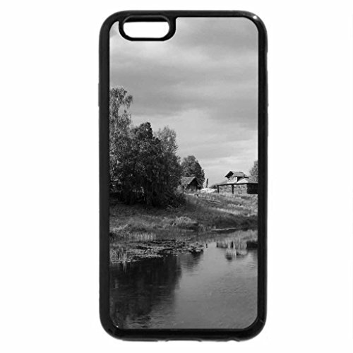 iPhone 6S Case, iPhone 6 Case (Black & White) - Landscape