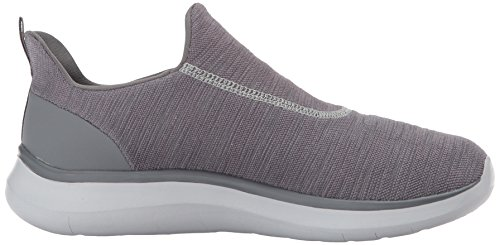 Skechers Mens Quantum Flex Sneaker Charcoal