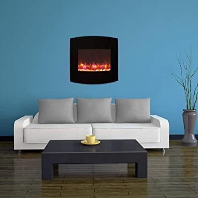 Gallery Radius Linear Electric LED Fireplace