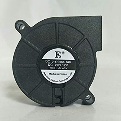 JIUY 1PCS Ultra silencioso Ventilador de Aire 12V 24V Ultra ...