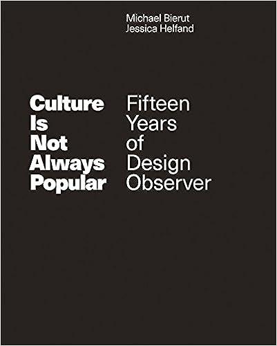 Culture is Not Always Popular