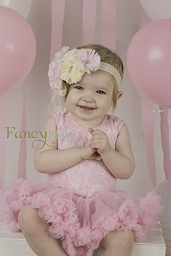 2 pc Set Baby Girl tutu dress and headband by Fancy Pants Company