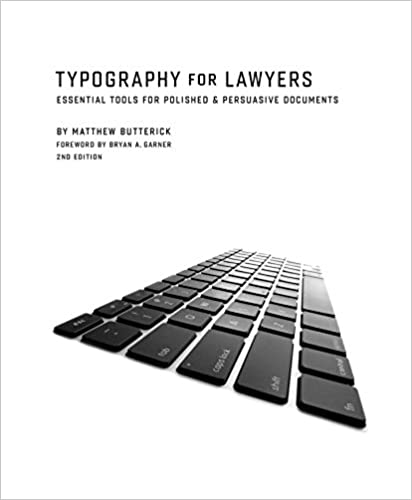 Typography for Lawyers 2nd
