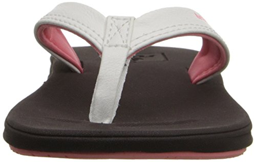 Reef Little Rover Catch - Zapatos de primeros pasos Bebé-Niños Marrón (Brown / White)
