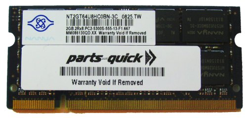 200 Pin Sodimm Acer Aspire (2GB DDR2 667MHz PC2-5300 200 pin SODIMM Acer Aspire One 10.1 - A150 (AOD150) KAV60 531 532 D150 D250 (AOD250) 531h (AO531h) 532h Netbook Laptop Memory)