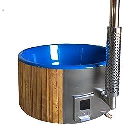 Allwood Wood fired hot tub model #200 DeeLux ON SALE - 2 LEFT