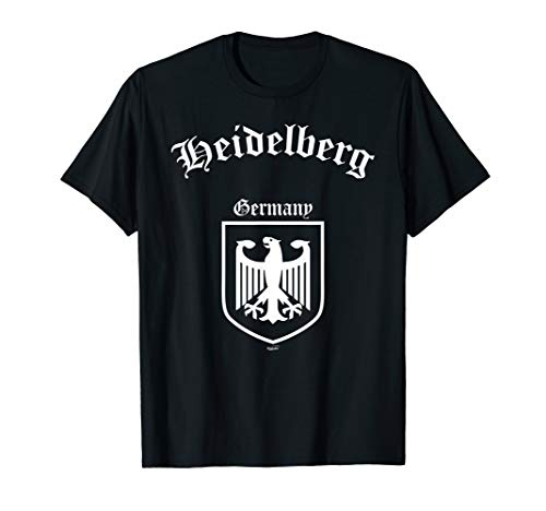 German Eagle Coat Of Arms - Heidelberg Germany - German Coat of Arms Eagle Shirt