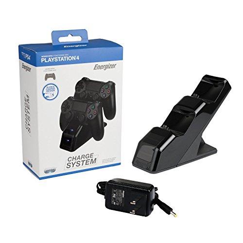 pdp energizer 2x controller charging station for ps4. Black Bedroom Furniture Sets. Home Design Ideas