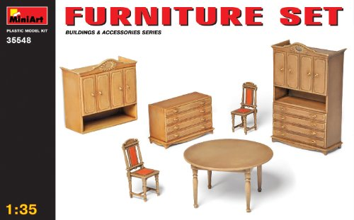MiniArt 1:35 Scale Furniture Set Plastic Model Kit for sale  Delivered anywhere in USA