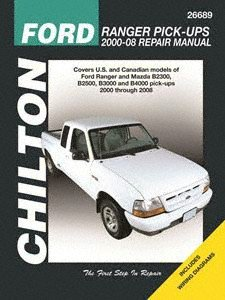 Chilton Automotive Repair Manual for Ford Ranger Pick-Ups 2000-'11 (26689)