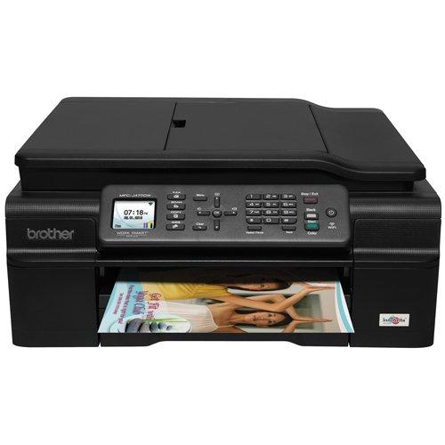 Brother MFC-J475DW Printer- Compact Wireless Inkjet All-in-One with Duplex Printing