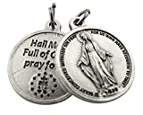 Religious Gifts Silver Toned Base Our Lady of Grace
