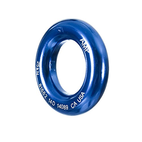 "Fusion Climb Perfect Tension Aluminum O Ring Small 2"" Blue 25KN"
