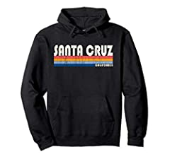 The perfect Santa Cruz California souvenir! This retro design has Santa Cruz in a cool retro font with colored stripe underlining. This trendy design is distressed to give it a vintage classic look that everyone will love! Be ready for the co...