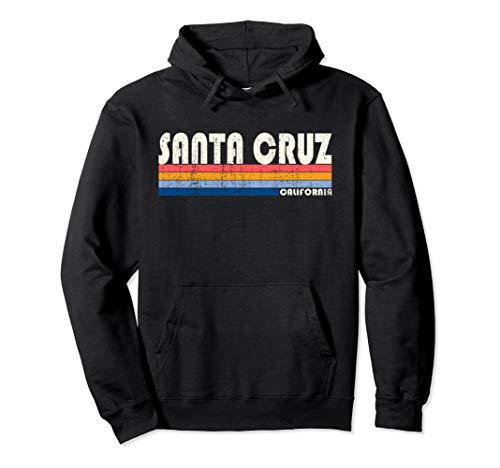 (Vintage 70s 80s Style Santa Cruz CA Hoodie)
