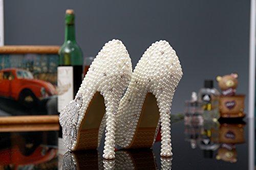 Ivory Heel Plataforma 14cm Miyoopark Mujer qw4Tvnf