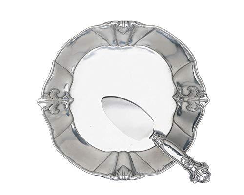 Arthur Court Designs Aluminum Fleur-De-Lis Pattern 8
