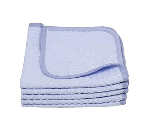 THE RAG COMPANY (2-Pack) Dry Me A River Jr 20 in. x 40 in. Professional Korean 70/30 Microfiber...