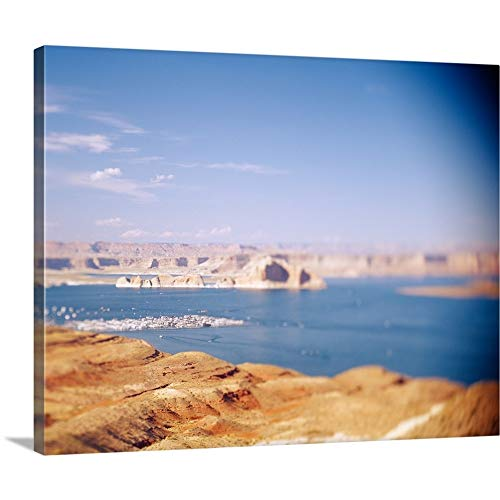 ry-Wrapped Canvas Entitled Rock Formations in a Lake, Lake Powell, Arizona by 14