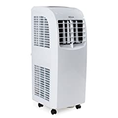 DELLA Enjoy portable cooling with the Portable Air Conditioner. The cooling power keep a room up to 300 sq. ft. cool and comfortable and the multi speed cooling and fan and 2-way air direction help spread the air evenly throughout the room. D...