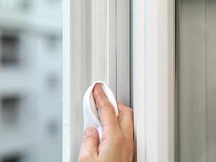 Transparents Joints premium tesamoll/® en silicone souples 6/m Ferment les colonnes des portes et fen/êtres 2/pi/èces