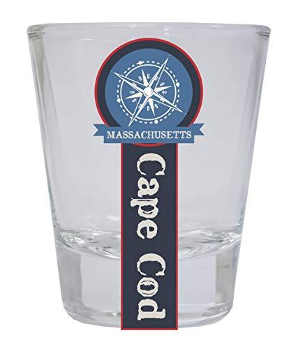 Cape Cod Massachusetts Nautical Souvenir Round Shot -