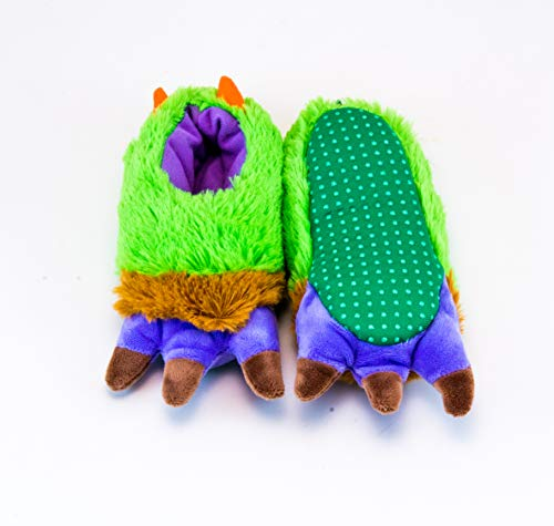 Rich Frog Monster Funky Feet Slippers for Children, Toddler Size 7 by Rich Frog