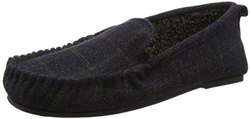 Dunlop Lucan, Zapatillas de Estar por Casa para Hombre Azul - azul (Navy)