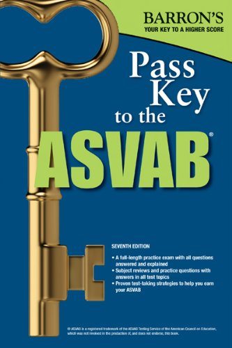 Pass Key to the ASVAB, 7th Edition (Pass Key to the Asvab (Barron's))